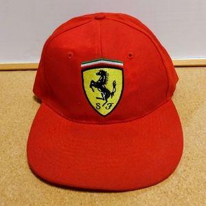 Vintage Ferrari Baseball Cap